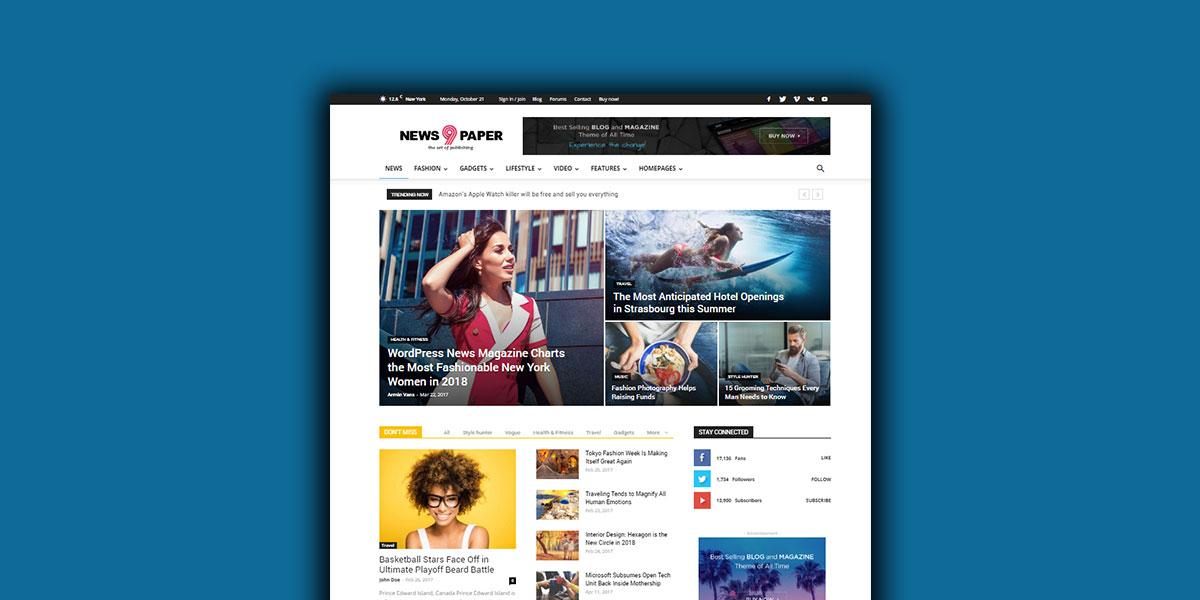 WordPress Newspaper Themes Newspaper